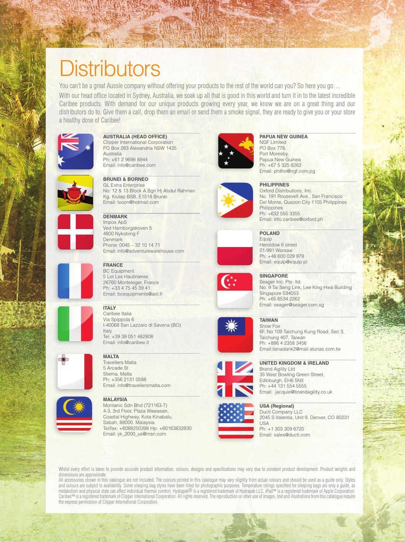 Caribee 2014 catalogue by Caribee.