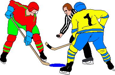 Animated Hockey Clipart.