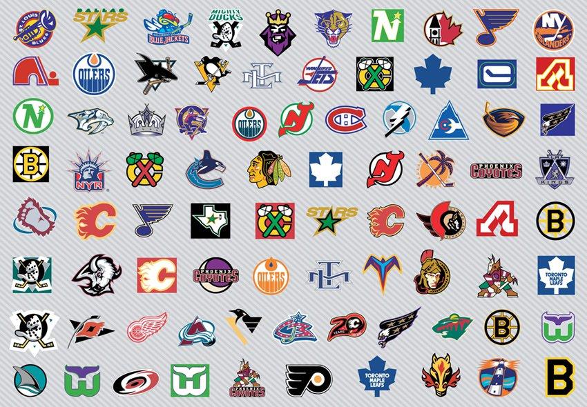 Nhl Hockey Logos Vector Art & Graphics.