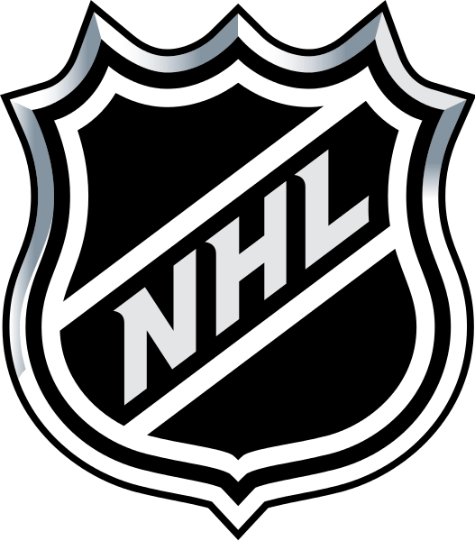 National Hockey League Logo transparent PNG.
