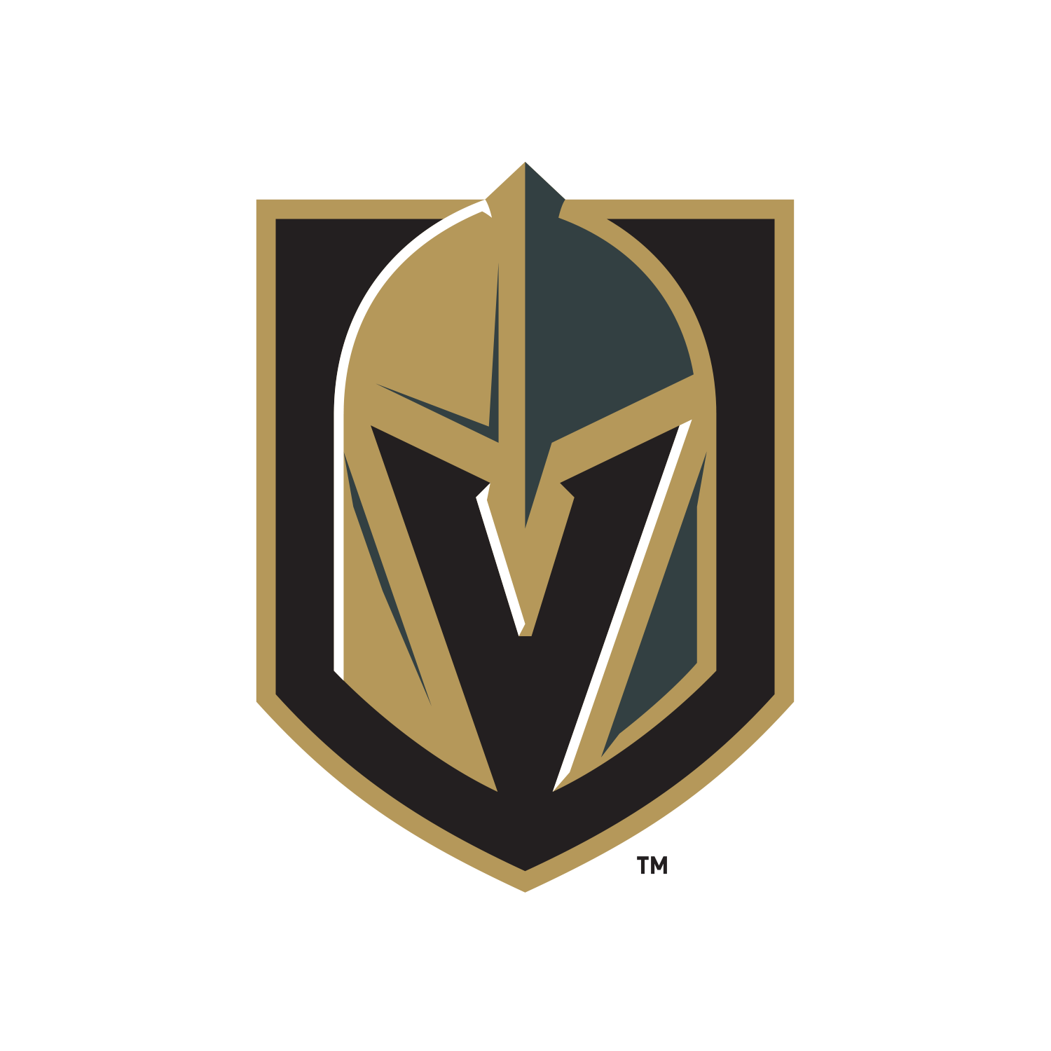 Vegas Golden Knights Nhl Logo Official.