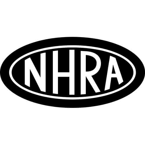 NHRA Logo Decal Sticker.