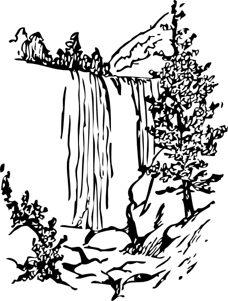 Water Fall Clip Art at Clker.com.