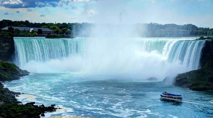 Niagara Falls Png Vector, Clipart, PSD.