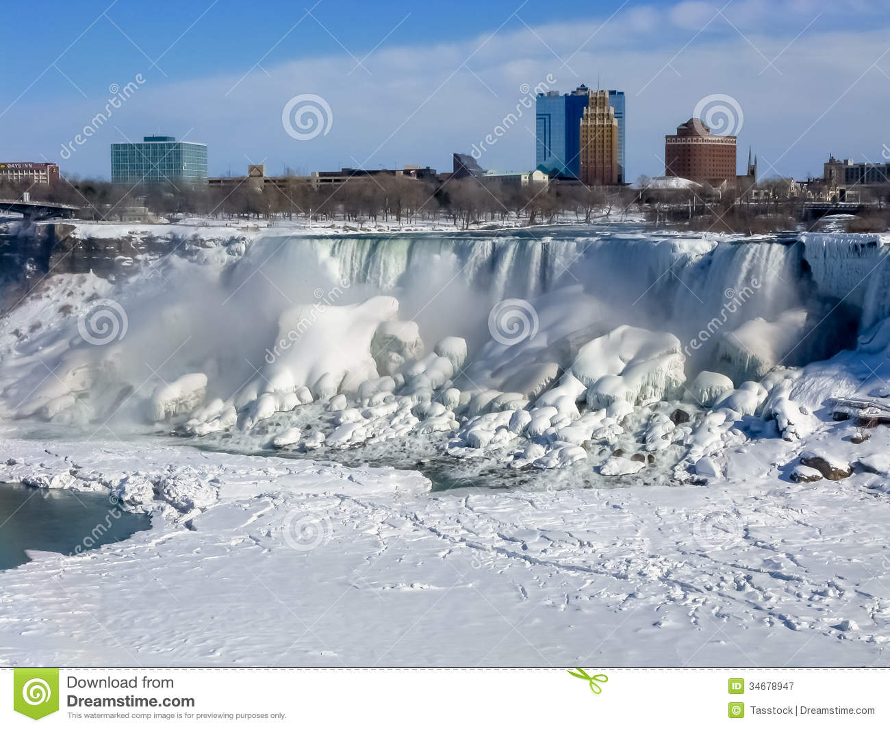 American Falls, Niagara River Editorial Photography.