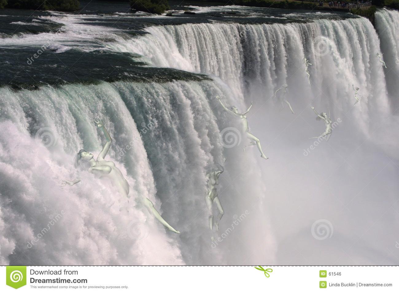 Niagara Falls Stock Illustrations.