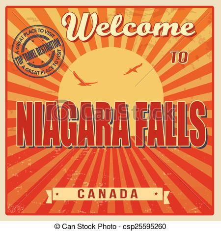 Niagara falls canada Clipart Vector Graphics. 23 Niagara falls.