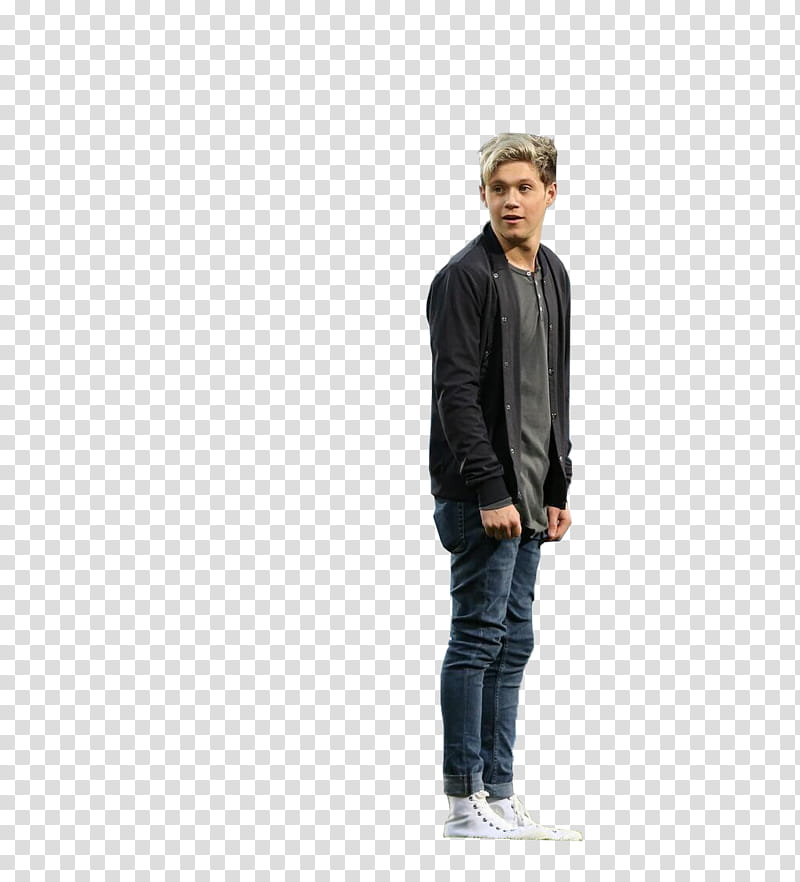 Niall Horan, man in jacket standing transparent background.