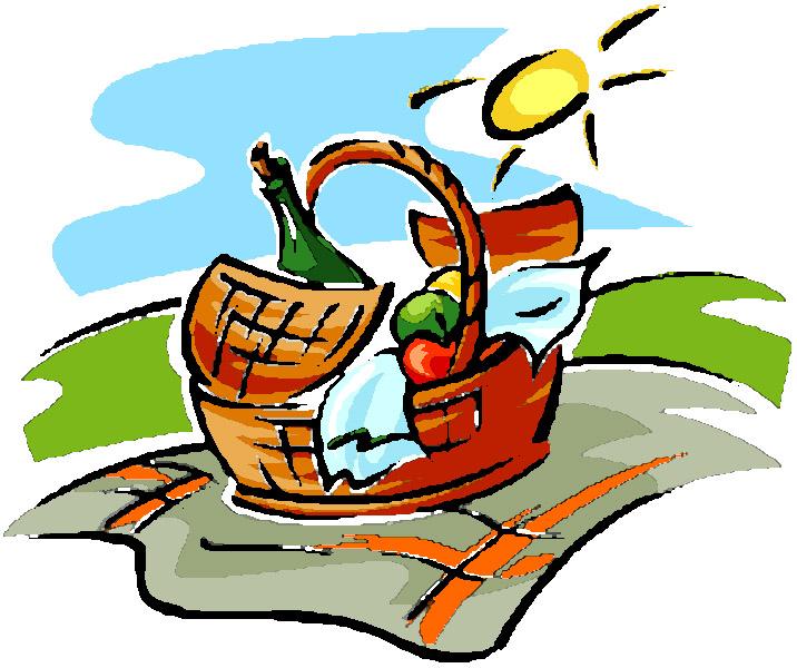 Picnic basket clipart free download clip art.