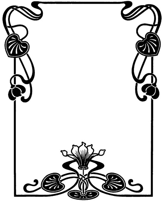 Art Deco Phone Clipart.