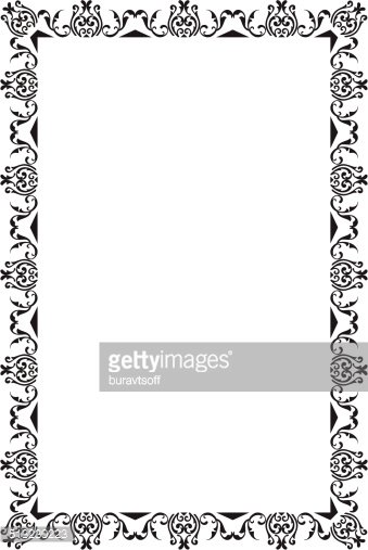 Nice Frame Stock Vector.