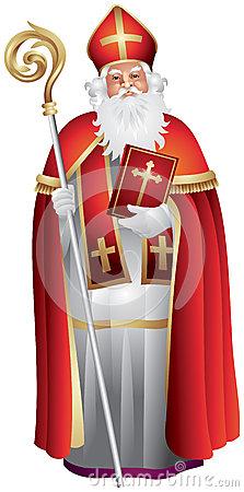 Saint Nicholas Of Myra Royalty Free Stock Photos.