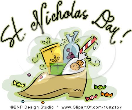 Clipart st nicholas day.