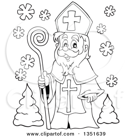 St nick clipart.