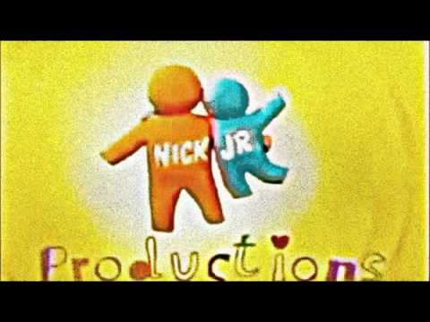 Nick Jr Productions Logo Effects.