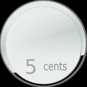 Totetude Nickel Coin Clip Art at Clker.com.
