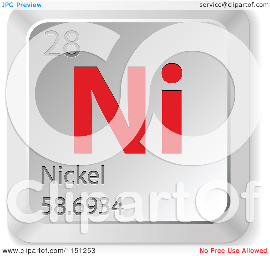 Periodic table symbol for nickel images periodic table images symbol for nickel on periodic table choice image periodic table nickel silver clipart clipground nickel element gamestrikefo Gallery