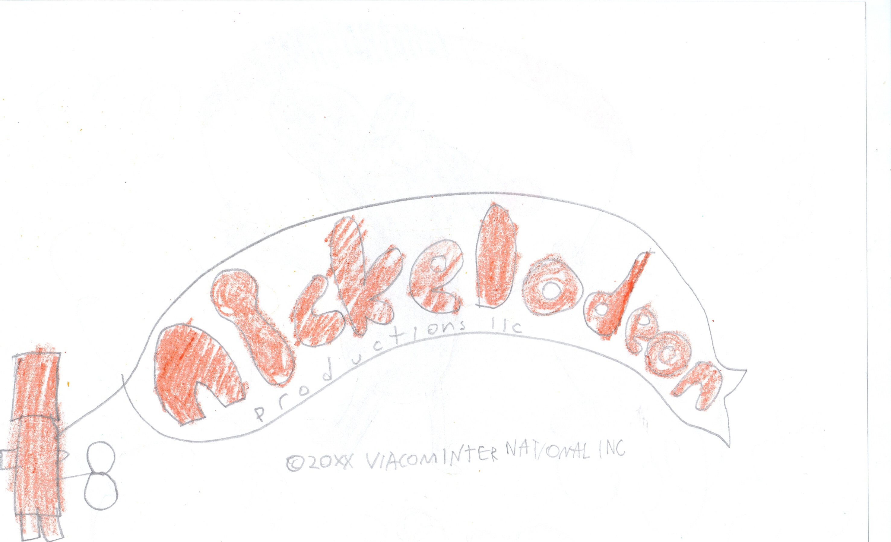 Wind Up Toy with Nickelodeon Productions logo by JohnHowarth.