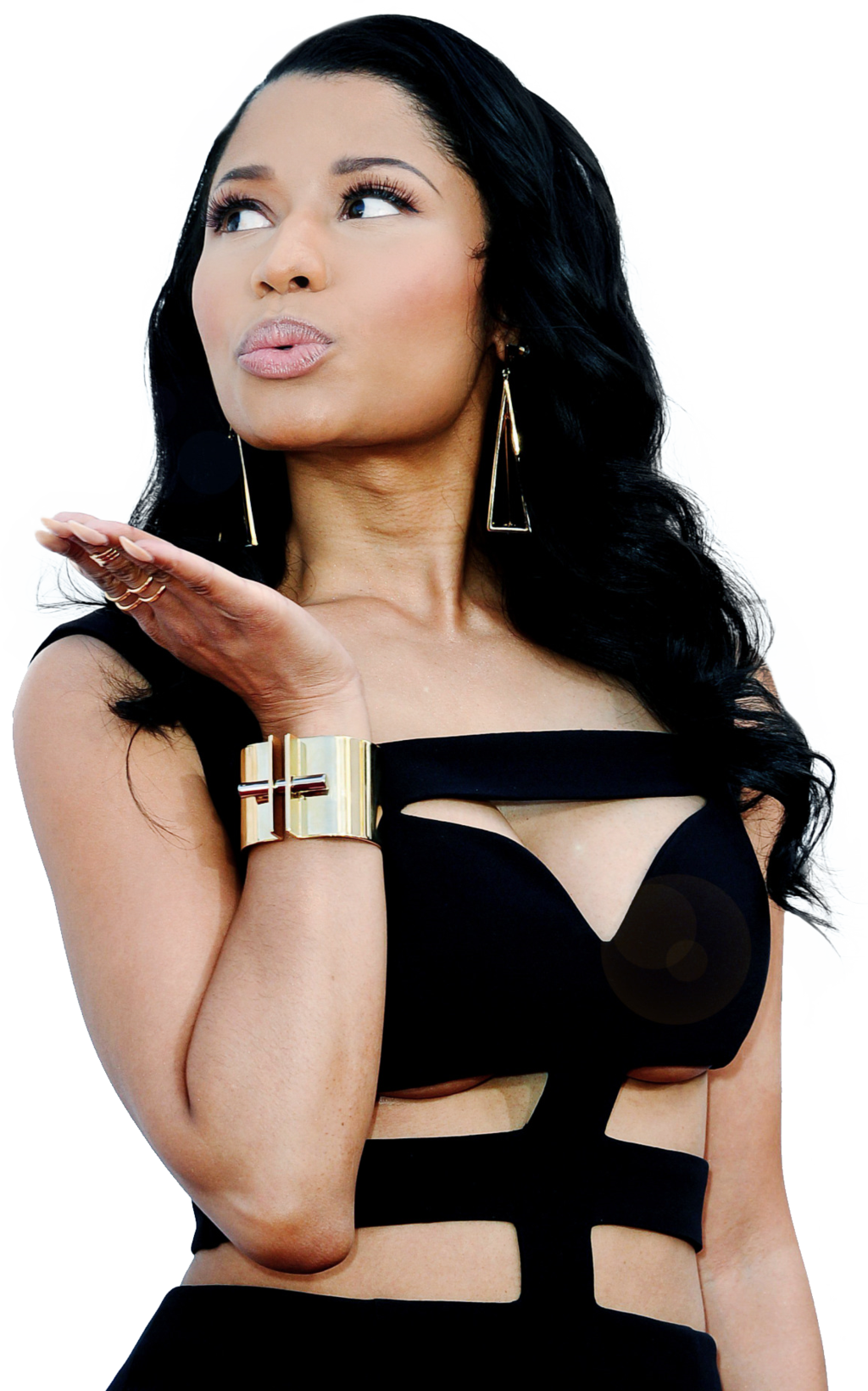 Download Nicki Minaj PNG Image For Designing Projects.