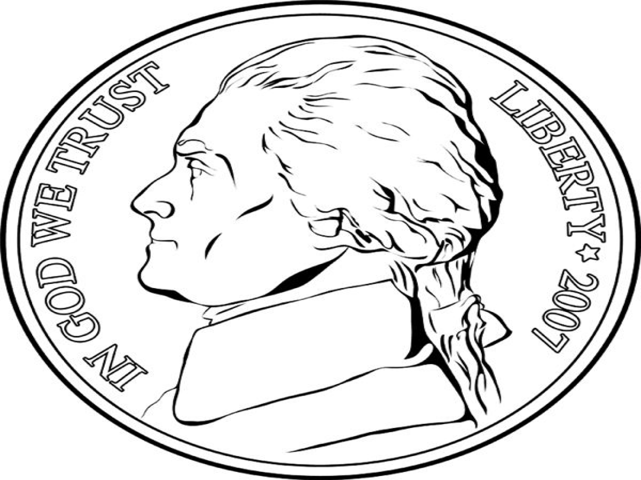 penny nickle coloring pages - photo#18