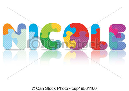 Nicole Clipart and Stock Illustrations. 4 Nicole vector EPS.