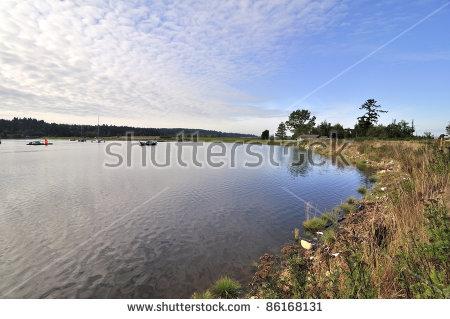 Nicomekl River Stock Photos, Royalty.