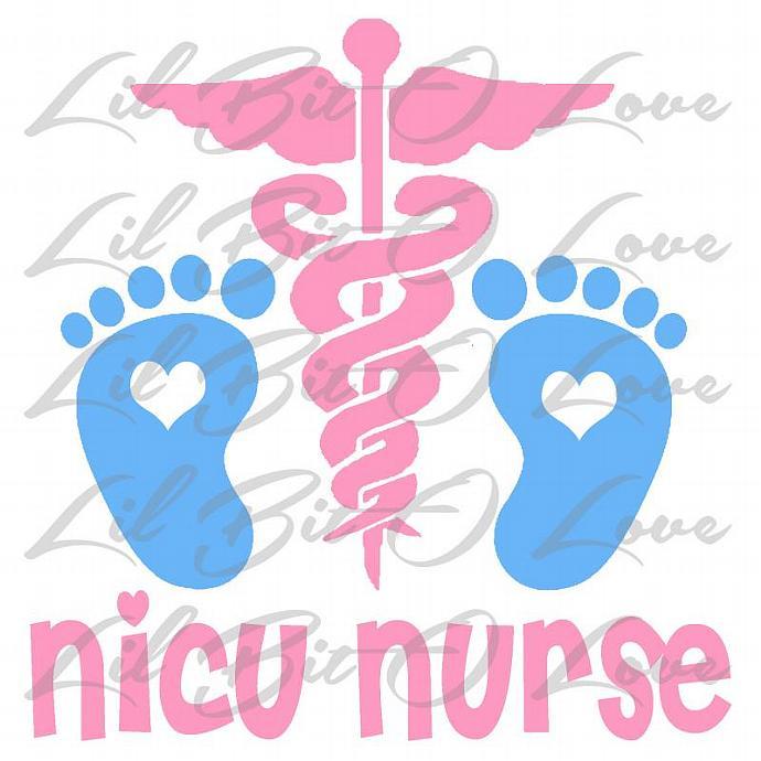 Neonatal Nurse Clipart.