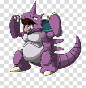 Nidoqueen transparent background PNG cliparts free download.