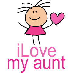 Aunt And Niece Clipart.