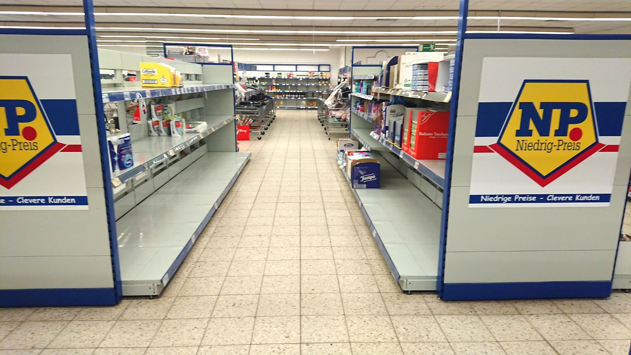 Ausverkauf bei NP: Markt in der Südstadt schließt.