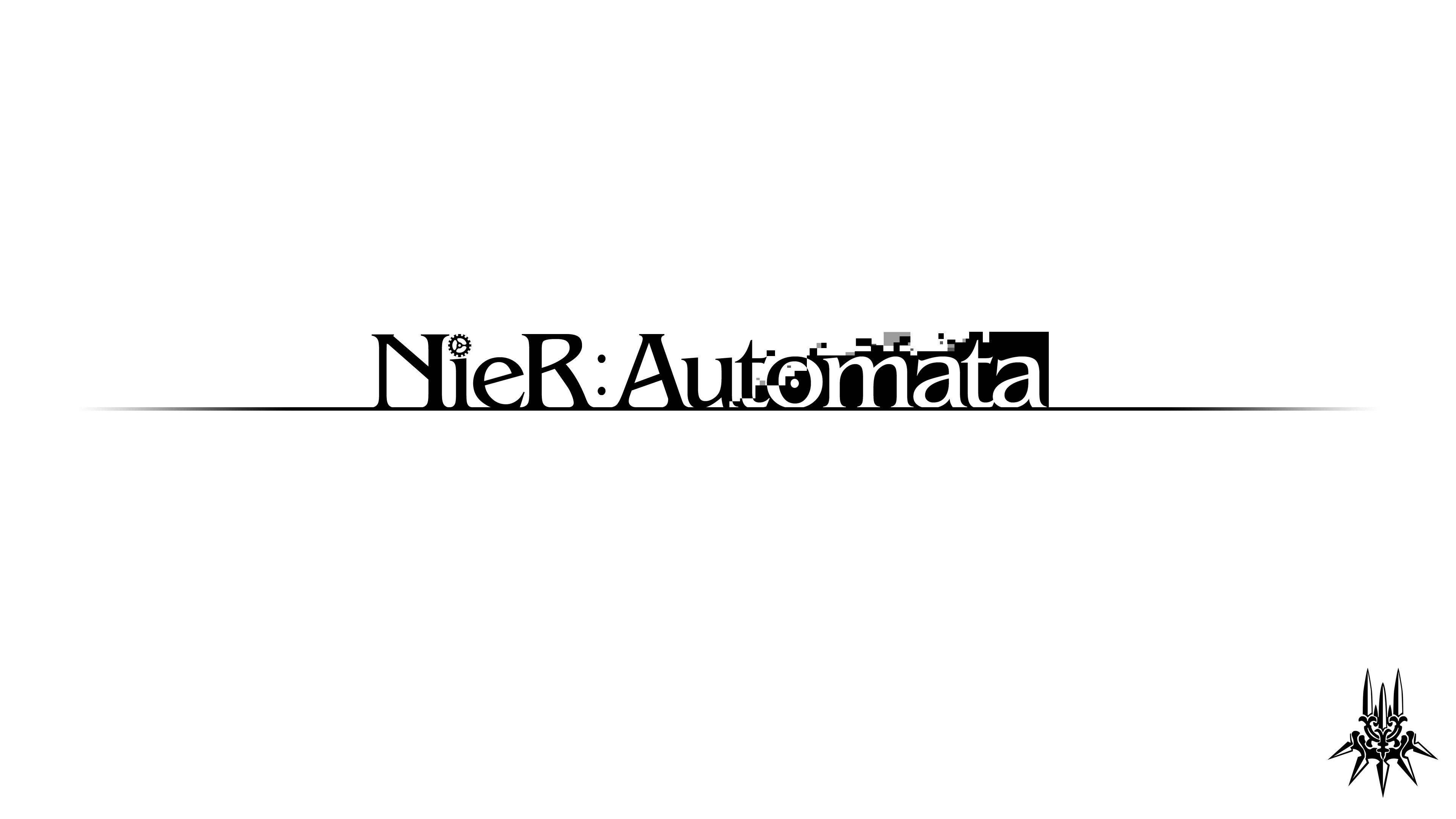 Download Free png nier automata logo png.