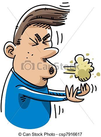 Stock Illustrationen von niesen, karikatur.