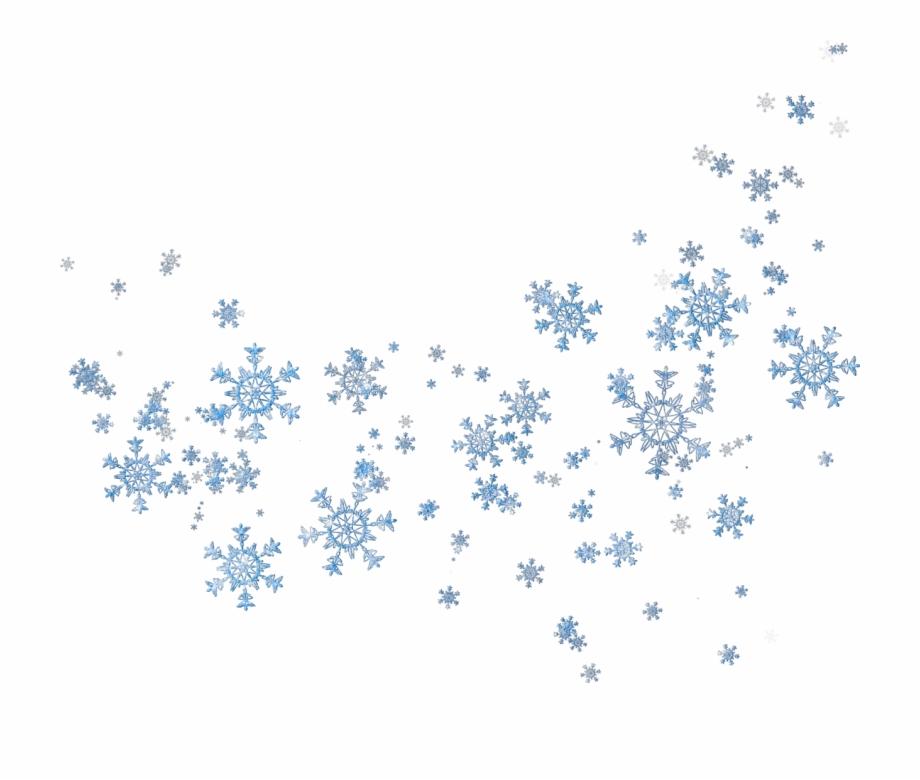 Transparent Snowfall Blur Copos De Nieve Png.
