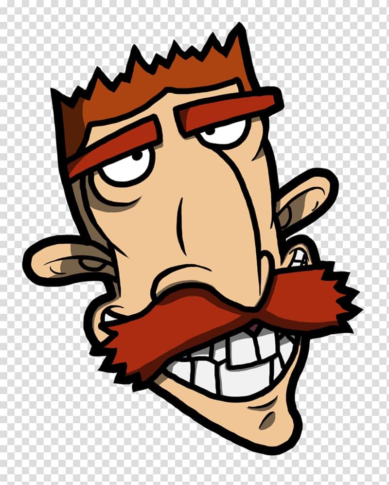 Nigel Thornberry Cartoon Character , Smashing transparent.