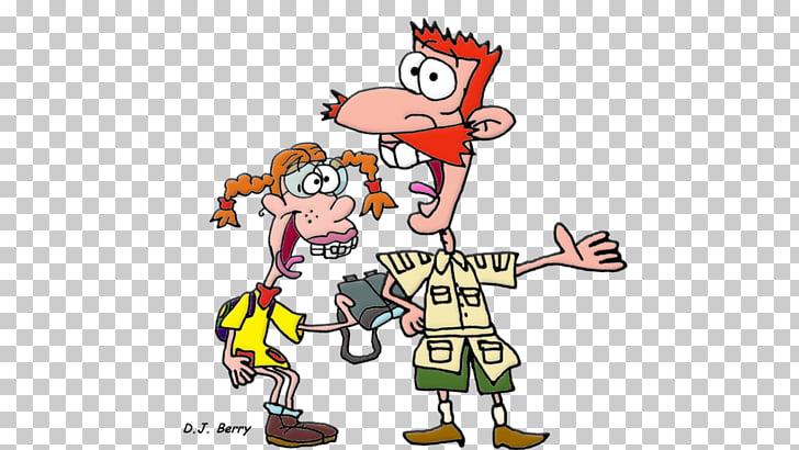 Nigel Thornberry Nickelodeon Cartoon Nicktoons, others PNG.
