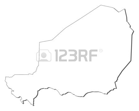 206 Niger Map Niger Shape Stock Illustrations, Cliparts And.