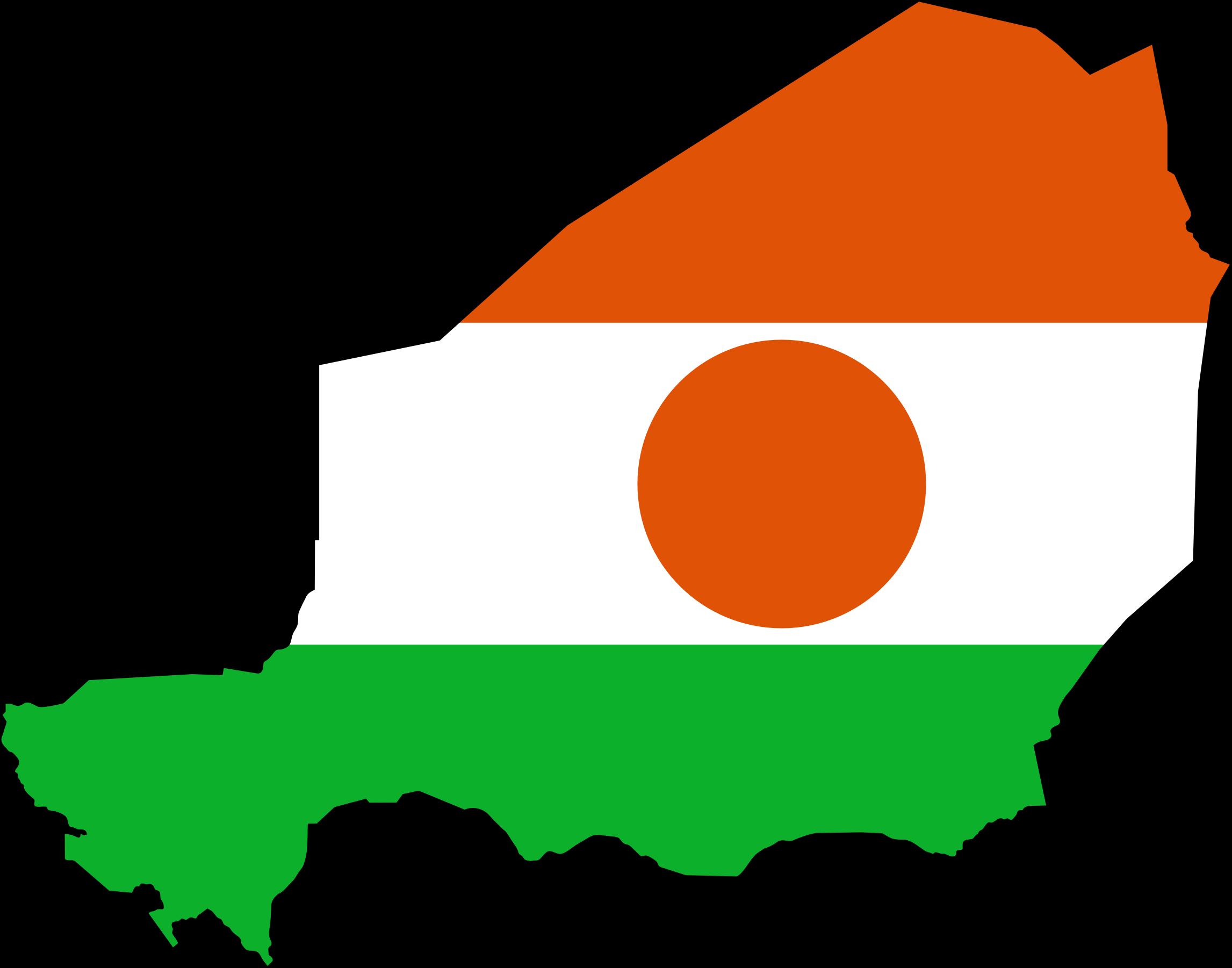 Niger flag clipart.