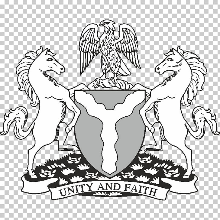Coat of arms of Nigeria Drawing P.M. News, Coat Of Arms Of.