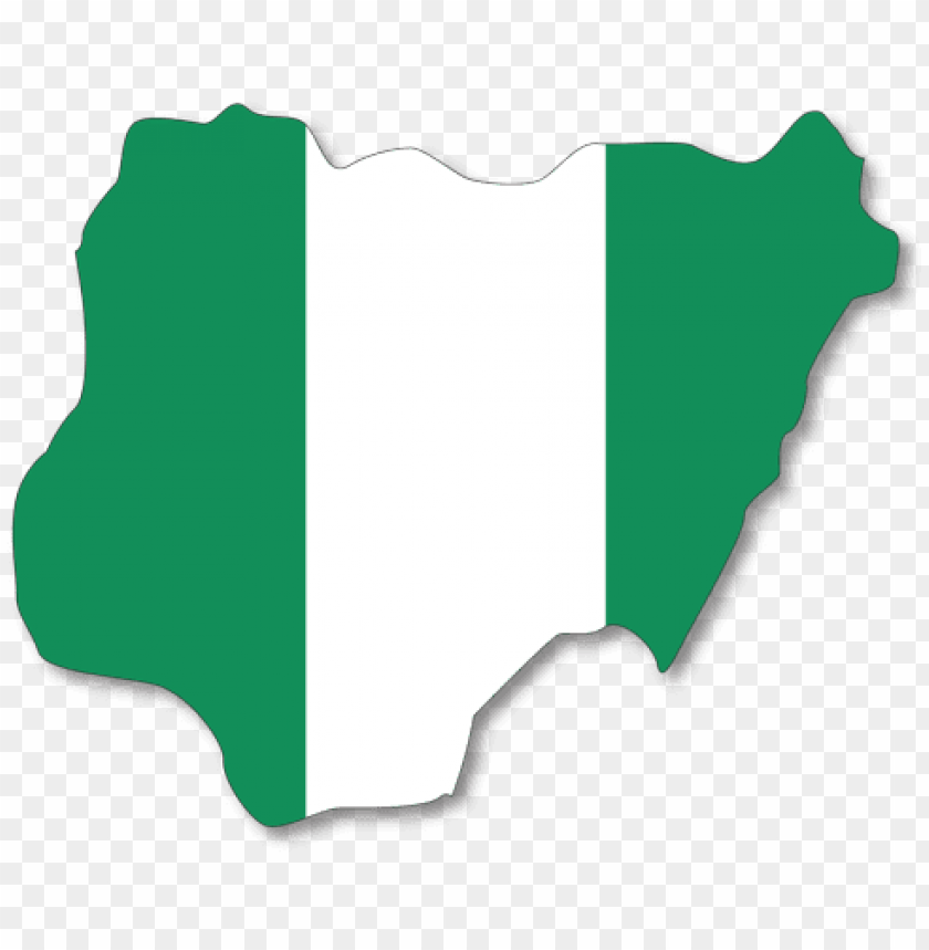 0649851 map flag nigeria.