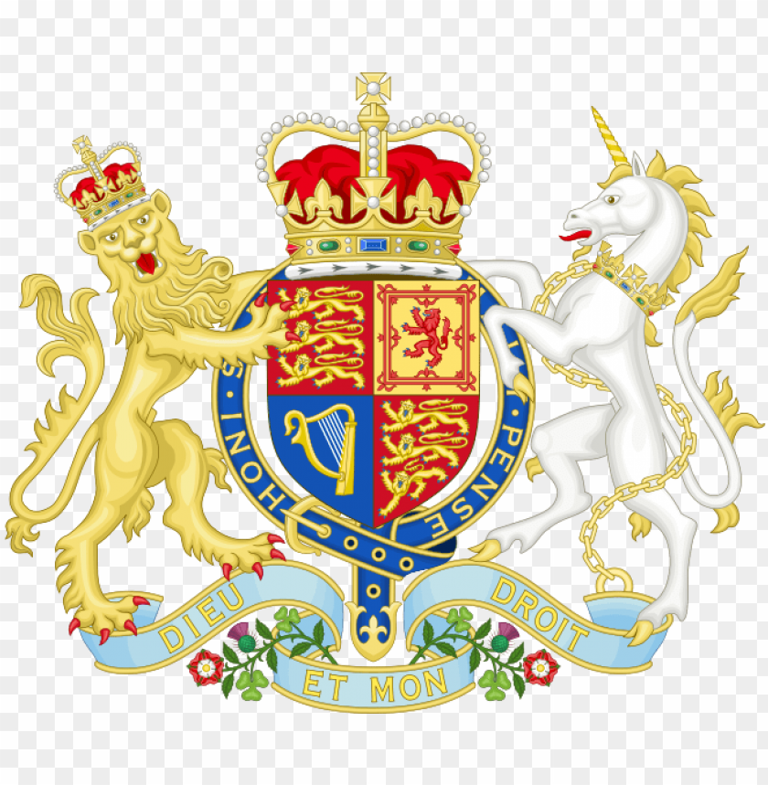 british and nigerian coat of arm.