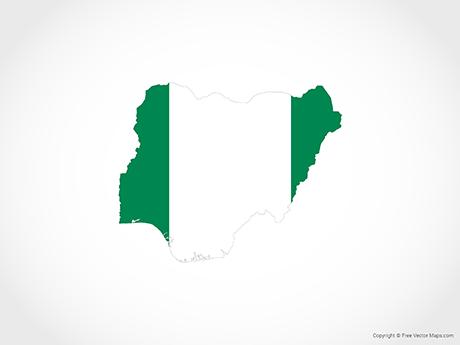 Vector Maps of Nigeria.