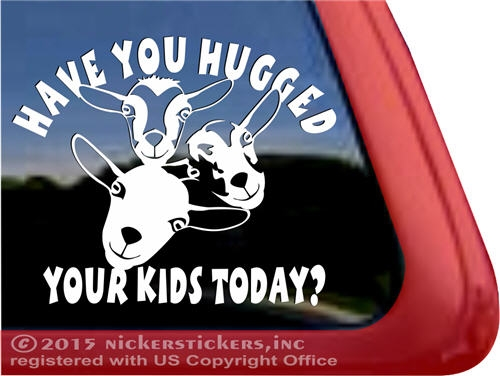 Funny Goat Decals & Stickers.