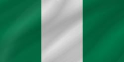 Nigeria flag clipart.