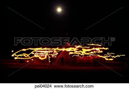Stock Photo of moon, dynamic, active, big holidays, folk customs.