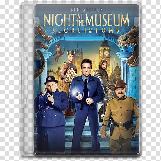 Movie Icon , Night at the Museum, Secret of the Tomb, Night.