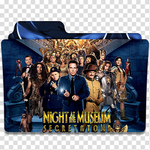 Night At The Museum Folder Icon , Night At The Museum III.