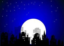 City Night, Clip Arts.