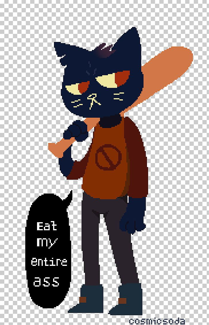 Cat Night In The Woods Artist PNG, Clipart, Animals, Art.