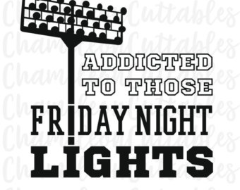 Friday Night Lights Clipart.