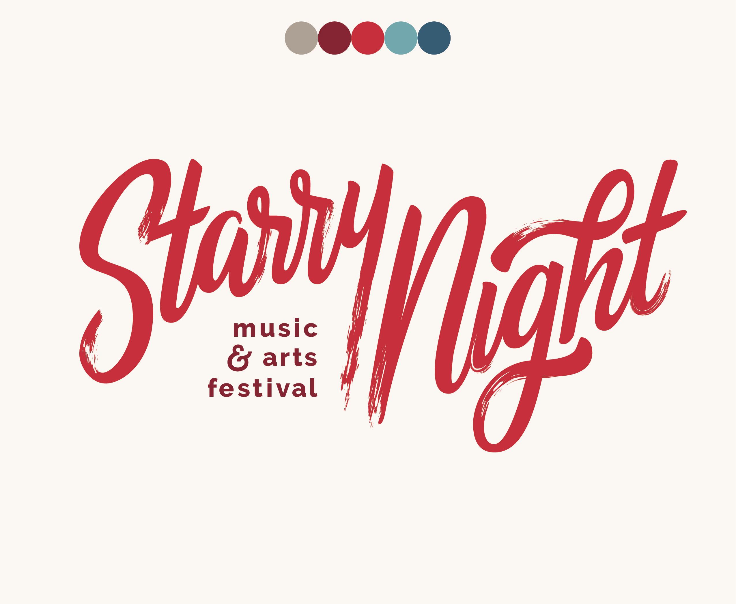Emily Knapp Design » Starry Night Logo.